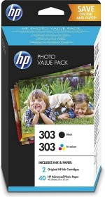 HP Druckkopf mit Tinte 303 Photo Value Pack (Z4B62EE)