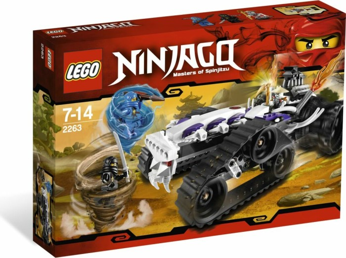 LEGO - Ninjago - Turbo Shredder (2263) -- via Amazon Partnerprogramm