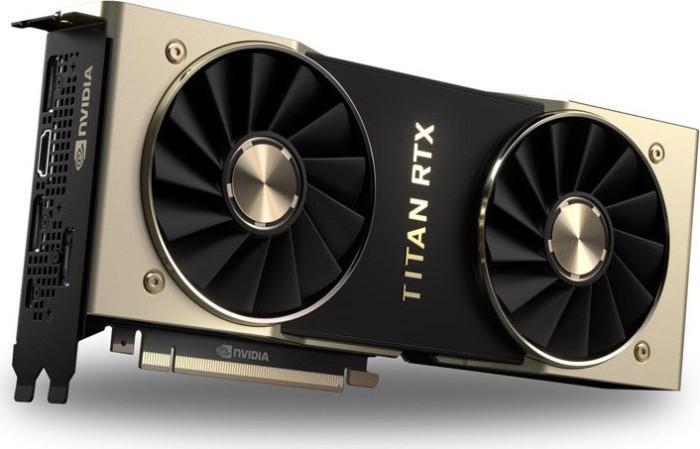 PNY Titan RTX, 24GB GDDR6, HDMI, 3x DP, USB-C (TCSTITANRTX-PB)