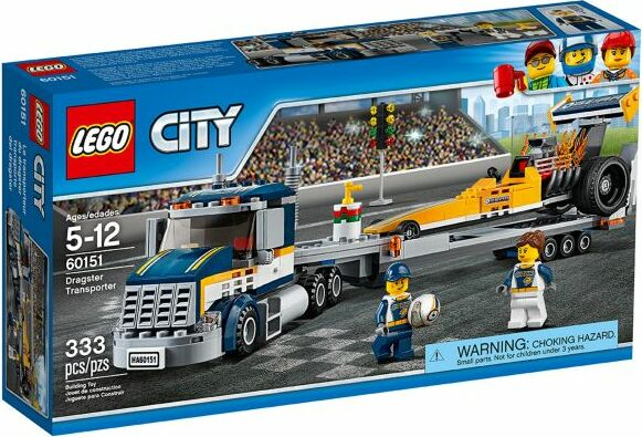 LEGO - City - Dragster-Transporter (60151) -- via Amazon Partnerprogramm