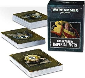 Games Workshop Warhammer 40.000 - Datakarten: Imperial Fists (DE) (04220101019)