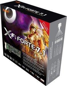 AuzenTech X-Fi Forte 7.1, low profile, PCIe