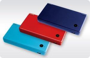 Nintendo DSi metallic blau