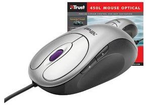 Trust MI-2450E Optical Combi Mouse, PS/2 & USB (13681)