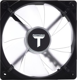 Riotoro Cross X White LED Fan, weiß beleuchtet, 120mm (FW120)