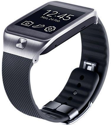 Samsung Armband für Gear 2/Gear 2 Neo schwarz (ET-SR380BB)