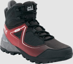 Jack Wolfskin Cascade Hike XT Texapore Mid schwarz/rot (Herren) (4039851-6047)