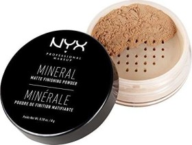 NYX Mineral Finishing Powder medium/dark, 8g