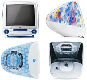 "Apple iMac G3, 15"", 500MHz, Blue Dalmatian (M8345*/A)"
