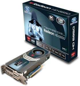 Sapphire Toxic Radeon HD 6850, 1GB GDDR5, 2x DVI, HDMI, 2x mini DisplayPort, full retail (11180-03-40R)
