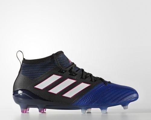 adidas Ace 17.1 Primeknit FG core black footwear white blue (men ... 0d92a15ec87c