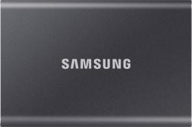 Samsung Portable SSD T7 grau 2TB, USB-C 3.1 (MU-PC2T0T)