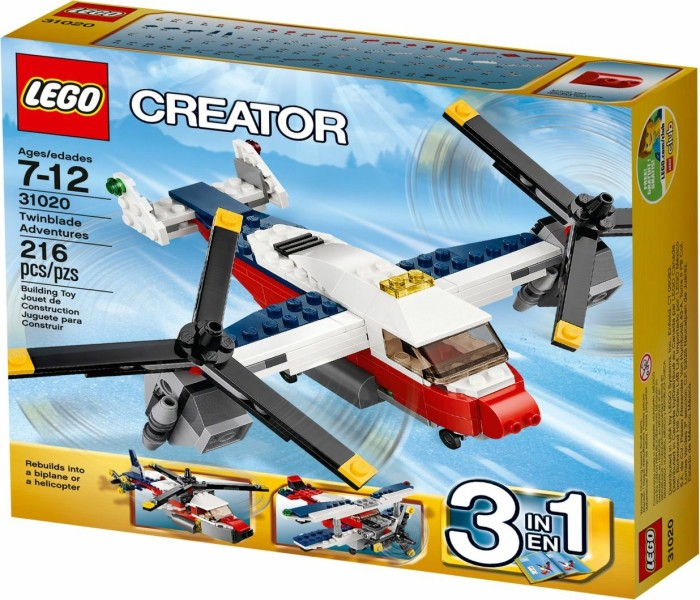 Lego Creator 3in1 Flugzeug Abenteuer Ab 2499 2019