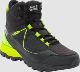Jack Wolfskin Cascade Hike XT Texapore Mid schwarz/lime (Herren) (4039851-6084)