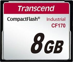 Transcend Industrial 170x R90/W60 CompactFlash Card 8GB (TS8GCF170)