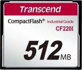 Transcend R20/W7 CompactFlash Card [CF] Industrial CF220I 512MB (TS512MCF220I)