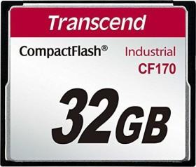 Transcend Industrial 170x R90/W60 CompactFlash Card 32GB (TS32GCF170)