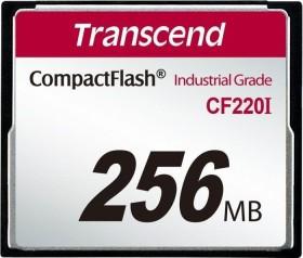 Transcend R39/W8 CompactFlash Card [CF] Industrial CF220I 256MB (TS256MCF220I)