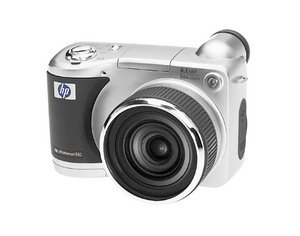 HP Photosmart 850 digital camera with docking station (Q2192A)