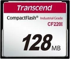 Transcend R39/W8 CompactFlash Card [CF] Industrial CF220I 128MB (TS128MCF220I)