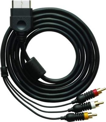 Microsoft Xbox Standard AV-Kabel mit SCART (Xbox) (K06-00002) -- via Amazon Partnerprogramm
