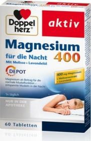 Doppelherz Magnesium 400 für die Nacht Tabletten, 60 Stück