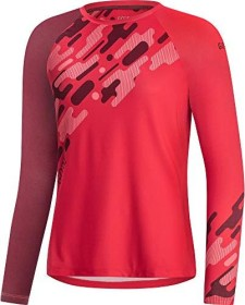 Gore Wear C5 Trail Trikot langarm hibiscus pink/chestnut red (Damen) (100606-AKAJ)