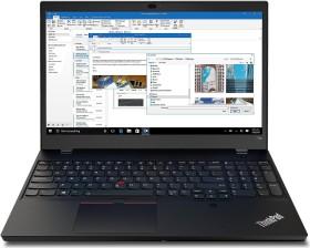 Lenovo ThinkPad T15p G1, Core i7-10750H, 16GB RAM, 512GB SSD, Fingerprint-Reader, Smartcard, LTE, IR-Kamera, beleuchtete Tastatur, GeForce GTX 1050, LTE, 600cd/m² (20TN0006GE)