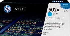 HP Toner 502A cyan (Q6471A)