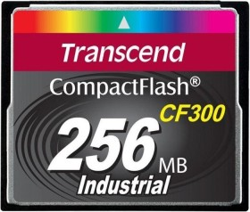 Transcend CF300 300x R57/W38 CompactFlash Card 256MB (TS256MCF300)