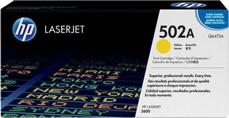 HP Toner 502A gelb (Q6472A)