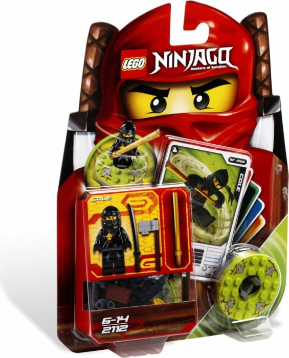 LEGO - Ninjago Spinners - Cole (2112) -- via Amazon Partnerprogramm
