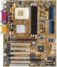 ASUS A7V266-EX, KT266A(DDR)