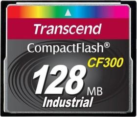 Transcend CF300 300x R57/W38 CompactFlash Card 128MB (TS128MCF300)