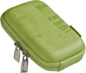 RivaCase 7023 (PU) camera bag (newspaper) green