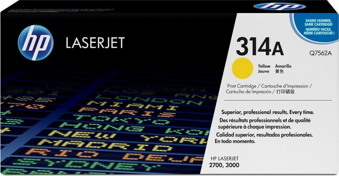 HP Toner 314A gelb (Q7562A)