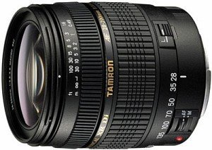 Tamron lens AF 28-200mm 3.8-5.6 Asp XR Di IF macro for Canon (A031E)