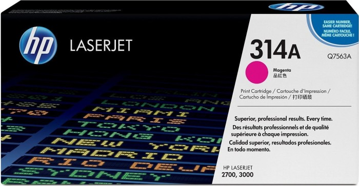 HP Toner 314A magenta (Q7563A)