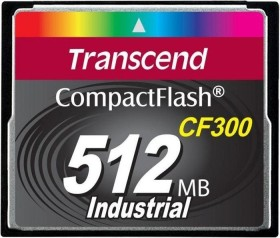 Transcend CF300 300x R57/W38 CompactFlash Card 512MB (TS512MCF300)