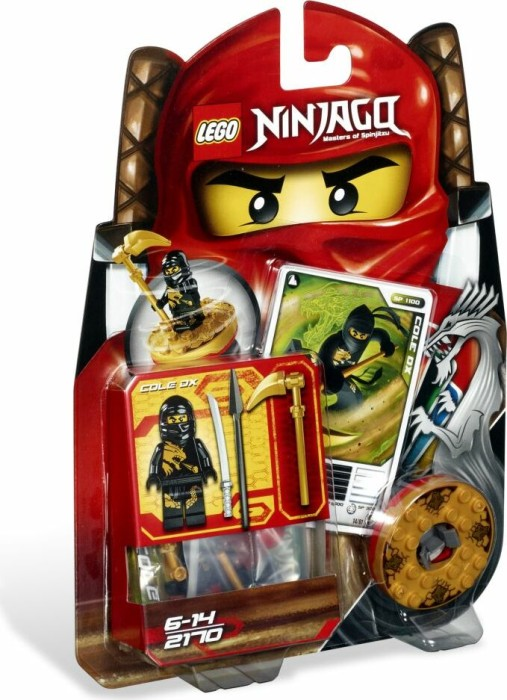 LEGO - Ninjago Spinners - Cole DX (2170) -- via Amazon Partnerprogramm
