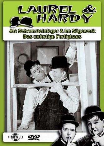 Laurel & Hardy - Schornstein/Sägewerk/Fertighaus -- via Amazon Partnerprogramm