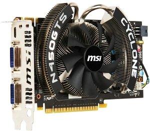 MSI N450GTS Cyclone 1GD5, GeForce GTS 450, 1GB GDDR5, VGA, DVI, HDMI (V236-254R)