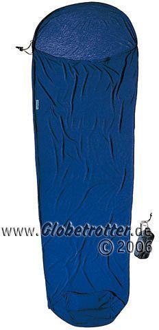Cocoon MummyLine CoolMax Hüttenschlafsack bluemax -- ©Globetrotter 2006