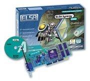 Elsa Synergy 2000, Quadro2 EX, 32MB DDR, AGP, bulk (60391)