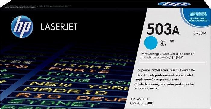 HP Toner 503A cyan (Q7581A)