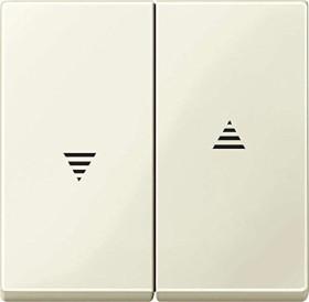 Merten System M Wippe Thermoplast brillant, weiß (432444)