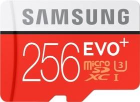 Samsung EVO+ R95/W90 microSDXC 256GB Kit, UHS-I U3, Class 10 (MB-MC256DA/EU)