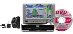 Pioneer AVIC-600T DVD-navigation package