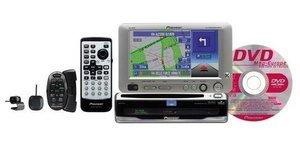 Pioneer AVIC-650VT DVD-/ AV-Navigationspaket