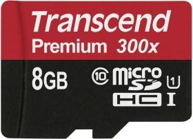 Transcend R45 microSDHC Premium 8GB, UHS-I, Class 10 (TS8GUSDCU1)